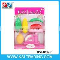 Hot items plastic funny toy kitchen set for kids