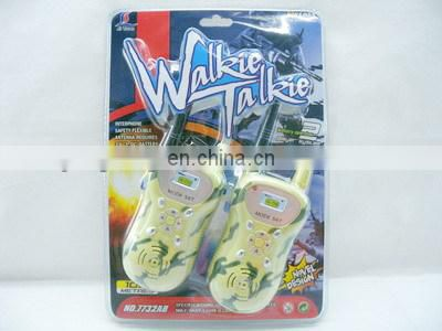 far distance control plastic walkie talkie toy