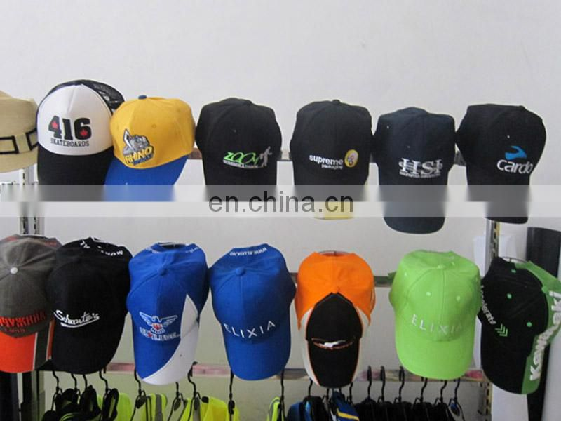 100% twill cotton for custom baseball cap with printing or embroidery