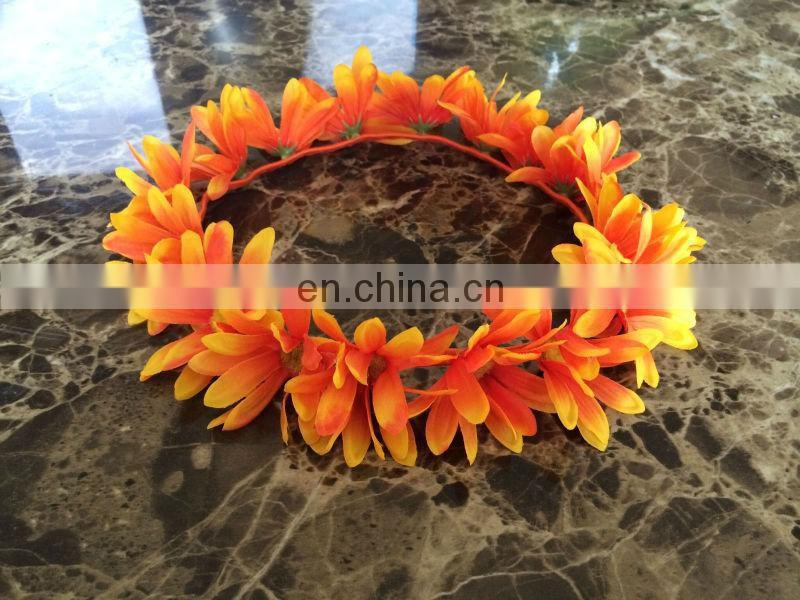 Handmade Floral Daisy Crown Headband