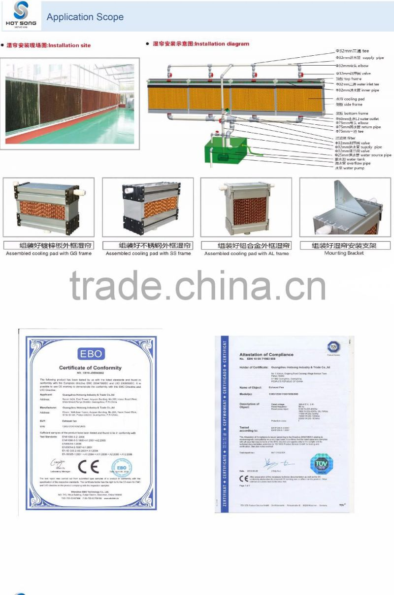 7090 Large Cooling Area Liquid Evaporative Pad Used Cattle Swamp Cooler Air Conditioner Wiring Diagram House