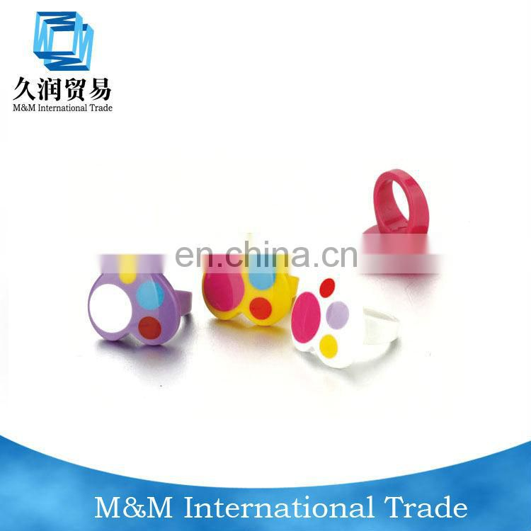 Promotional Plastic Kids Gifts Rings