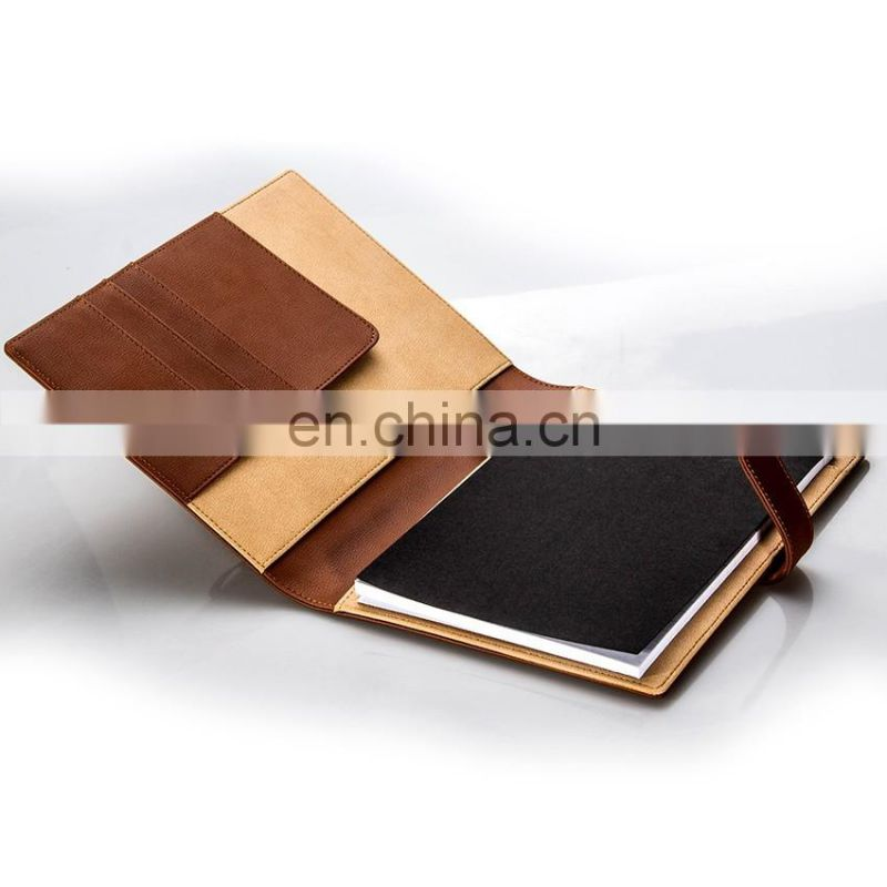 Top Supplier Competitive Price Custom Notebook Cover Design PU Cover Notebook