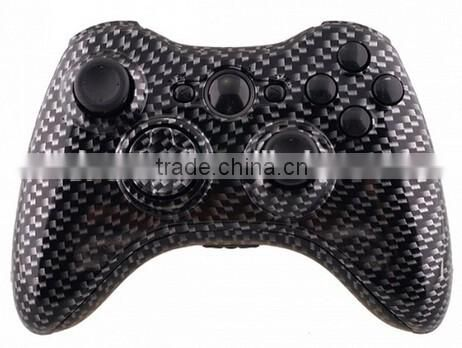 Custom Controller Shell for Xbox 360 Hydro Dipped Carbon Fiber Controller Shell Mod Kit + Parts for xbox 360 wireless controller