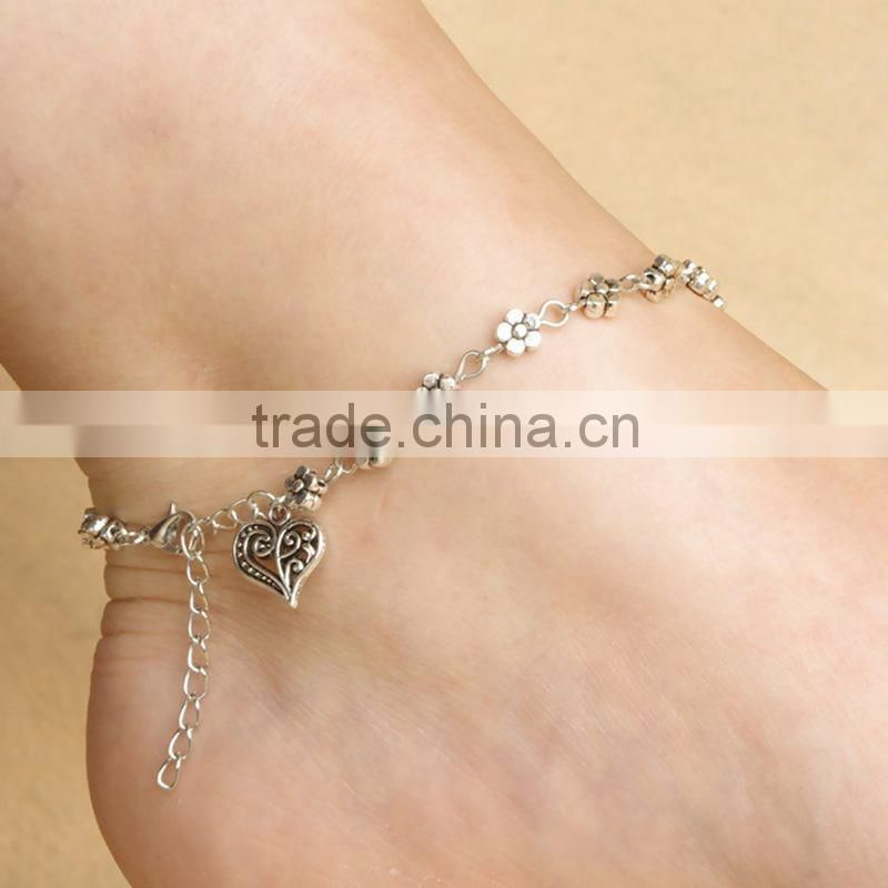Hot foot chain flowers of love anklets