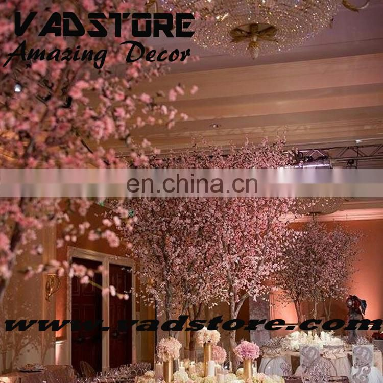 2016new artificial blossom tree wedding table centerpiece tree event decor wooden tree