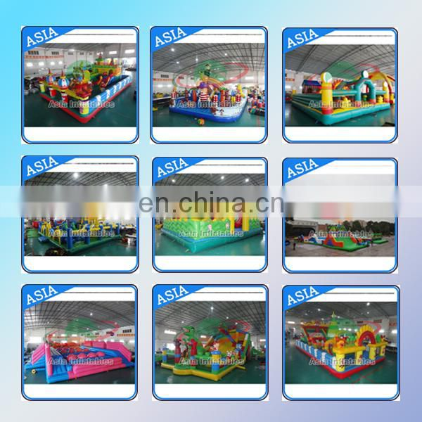 Crazy Sport Games Giant Inflatable Obstacle Course,Inflatable Obstacle Run Race For Adult or kids
