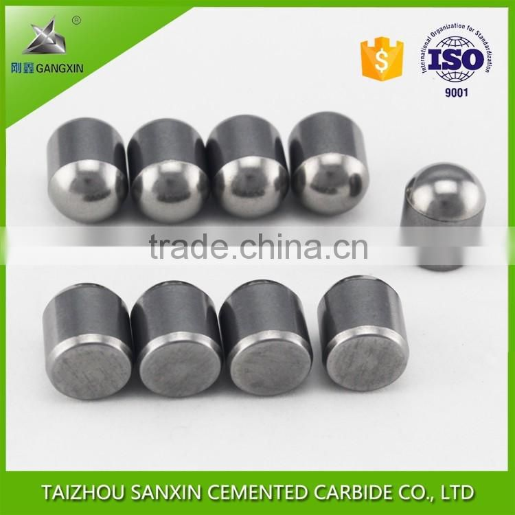 High quality tungsten carbide buttons 13*19, 16*21, 16*28 for mining and rock drilling