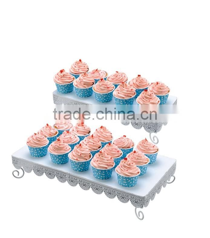 powder coated metal Shape Cupcake Stand-cake tools-wedding and party decorative