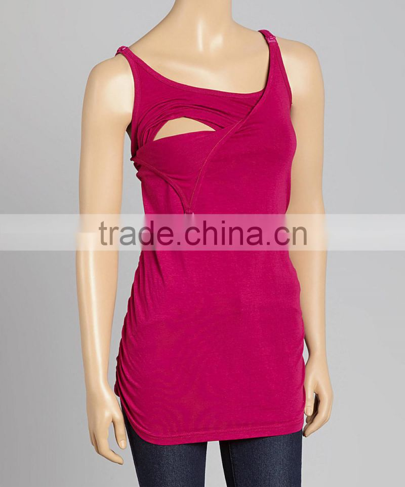 Free Shipping Orchid Maternity Tops With Bra And Tank Maternity Tees Women Clothing WT80817-47
