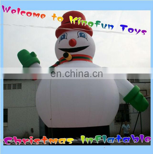 Lighted inflatable Santa Claus for sale