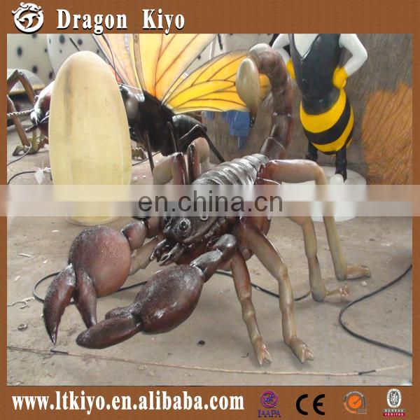 Life Size Simulation Insect Scorpion made of silicon rubber for sale