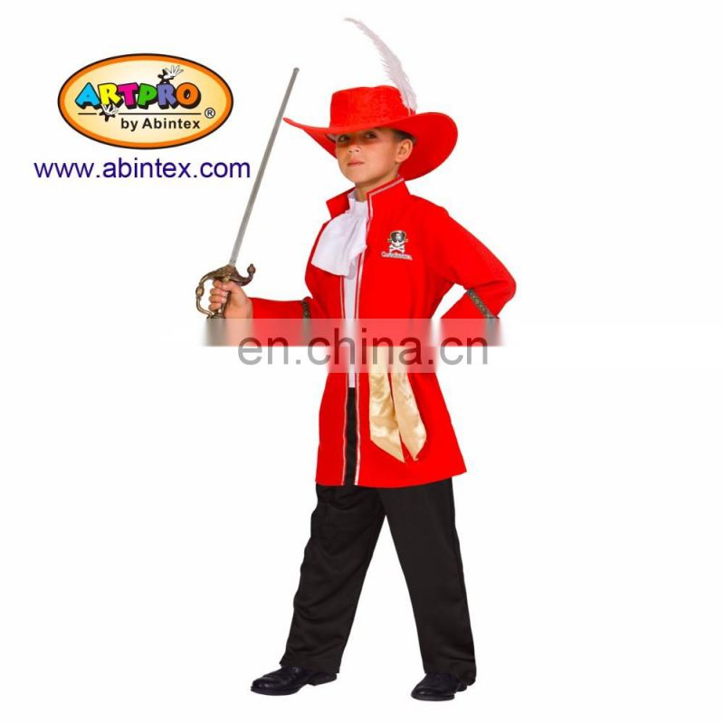 swordsman costume (13-132) as party costume for boy with ARTPRO brand