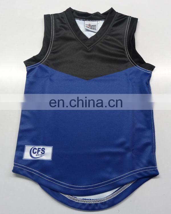 100% polyester fabric printed AFL uniform