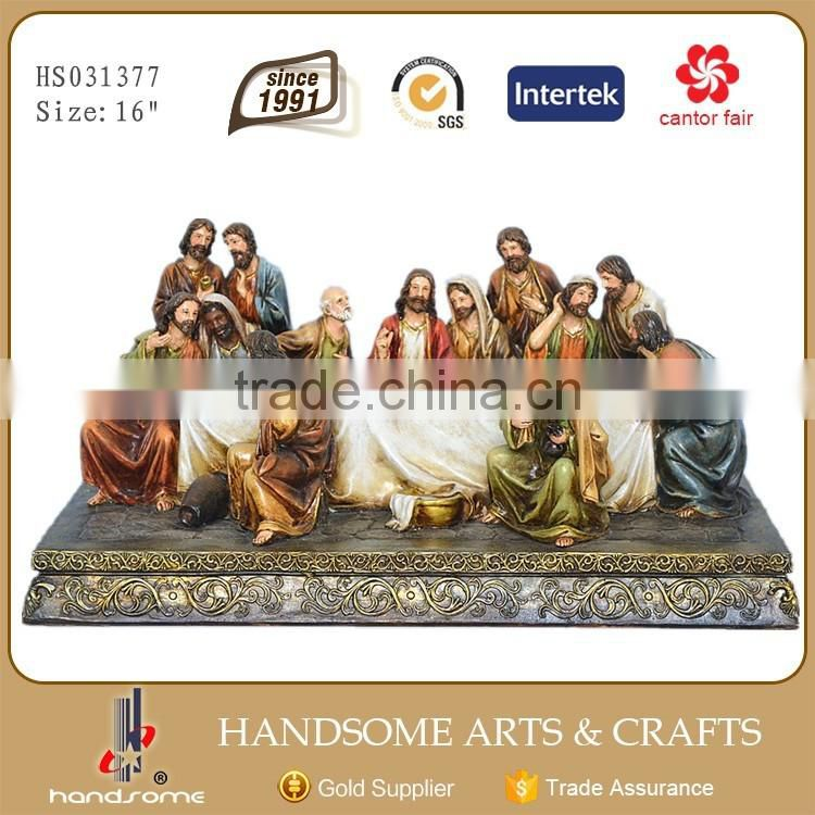 16 Inch Resin Home Decoration Statue Last Supper Religious Craft