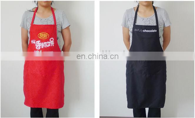 Promotional apron with logo,custom