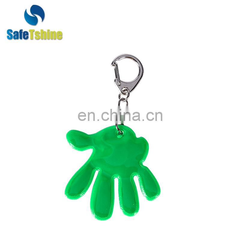 Factory sale various widely used cute sun reflective keychain