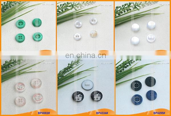 Custom Transparent Fancy Resin Button for Woman Shirt BP4319