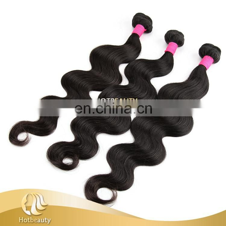 remy hair weft with closure hair Brazilian body wave gorgeous girl