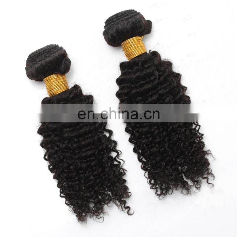 2017 hot sale wholesale kinky curly indian hair human hair weave