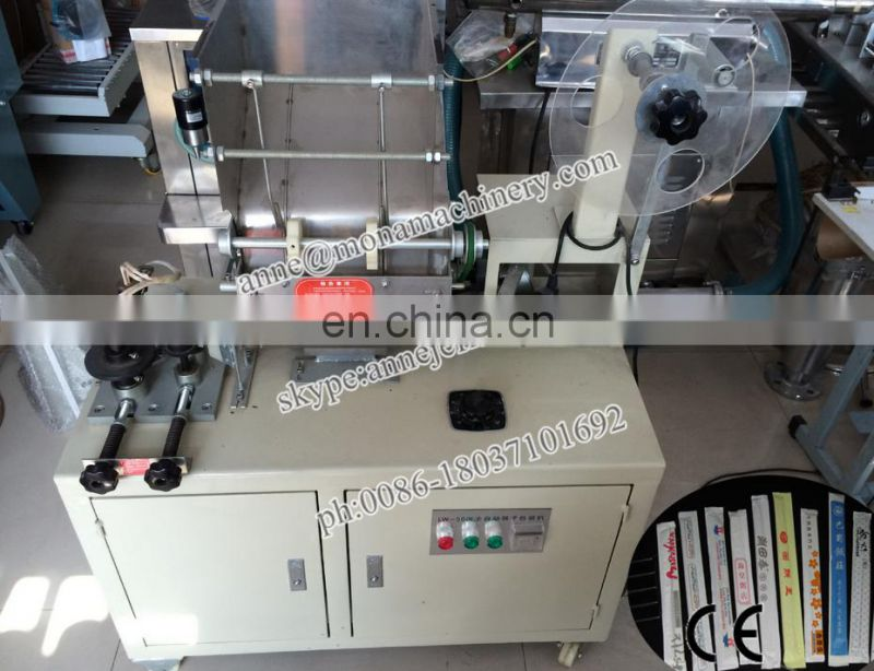 Automatic chopsticks packing machine with printing function