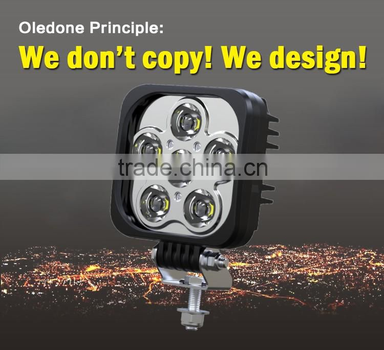 Factory direct offer Oledone high quality c ree 60W truck construction equipment pickup harley motorcycle LED working lights