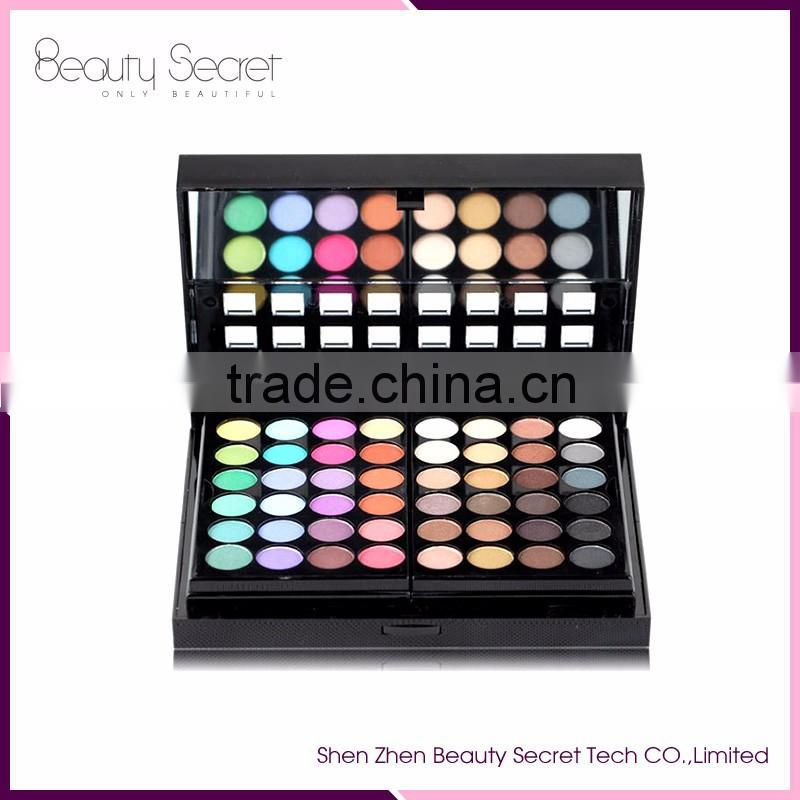 78 Color Cosmetics Makeup Set Eyeshadow+Eyebrow Powder+Blusher+Concealer
