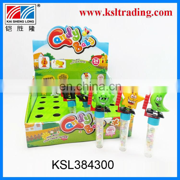 24PCS wind up sway animal duck chook candy in toy