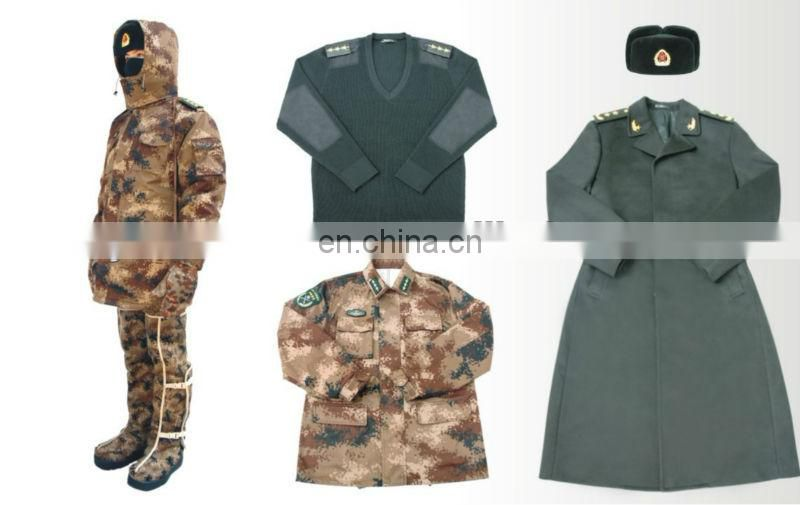washable polyester quilt wad for military uniform