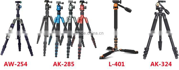 BILDPRO Colorful Camera Tripod With Monopod Selfie Stick Aluminum Alloy Material