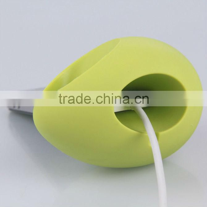 Cell phone silicone egg sound amplifier or speaker