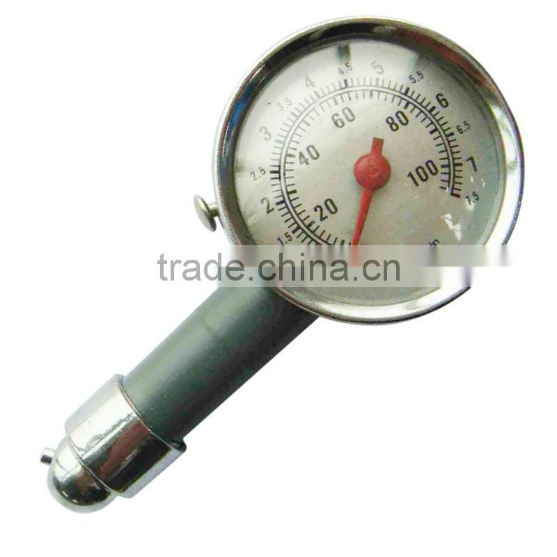 Dial Metal Car Tire Pressure Measurement Gauge Meter