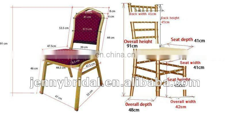 C421A organza luxury throne garden chair covers for weddings