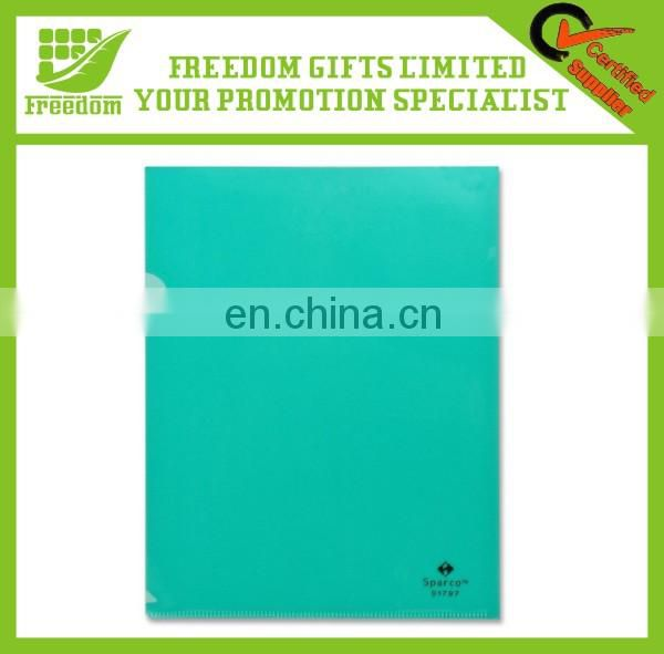 Logo Printed Transparent A4 Plastic Folders