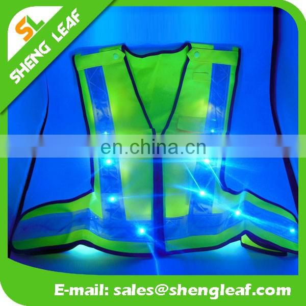 2017 hot sale of LED vest . led safety vest, safety vest with led light