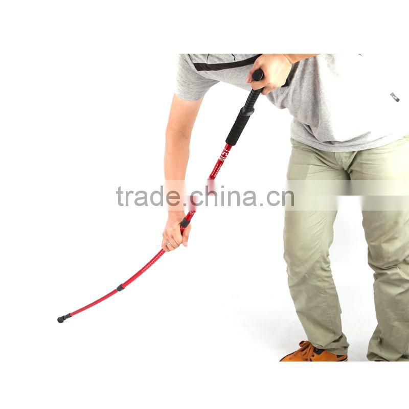 Aluminum Alloy Retractable camping Hiking climbing Stick, Hiking Rod