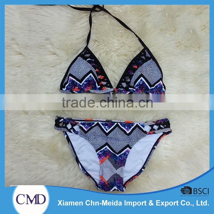 hot sale top quality best price ladies bikini swimsuit 2016