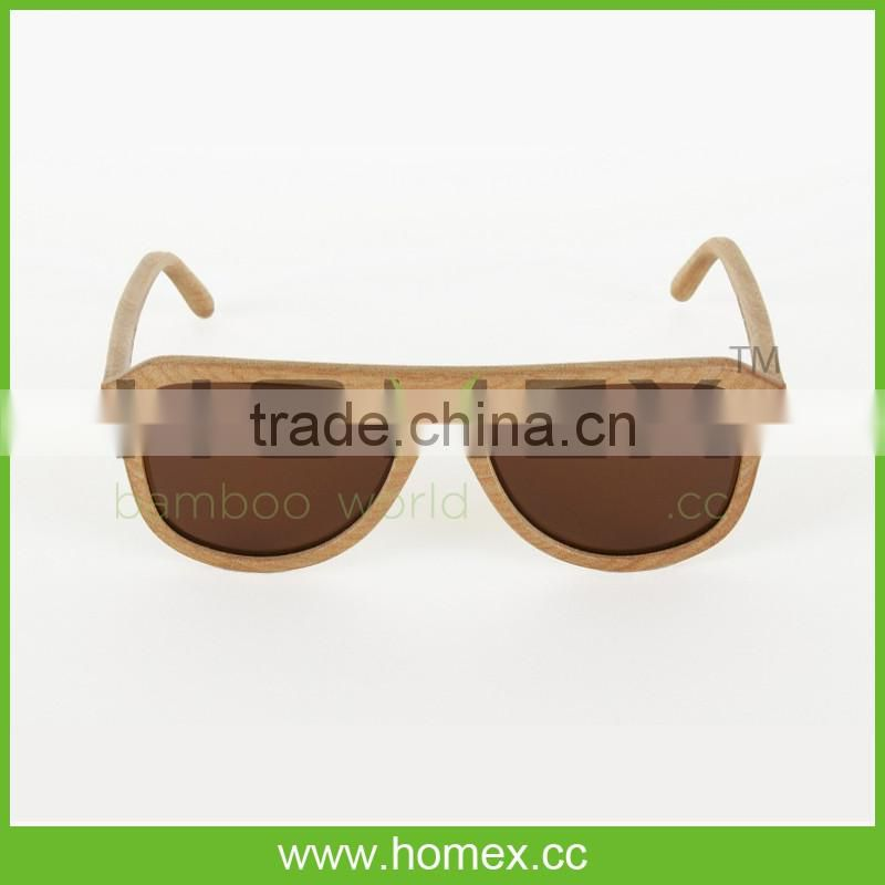Classic luxurious handmade custom wooden sunglasses/wood sunglasses polarized/HOMEX