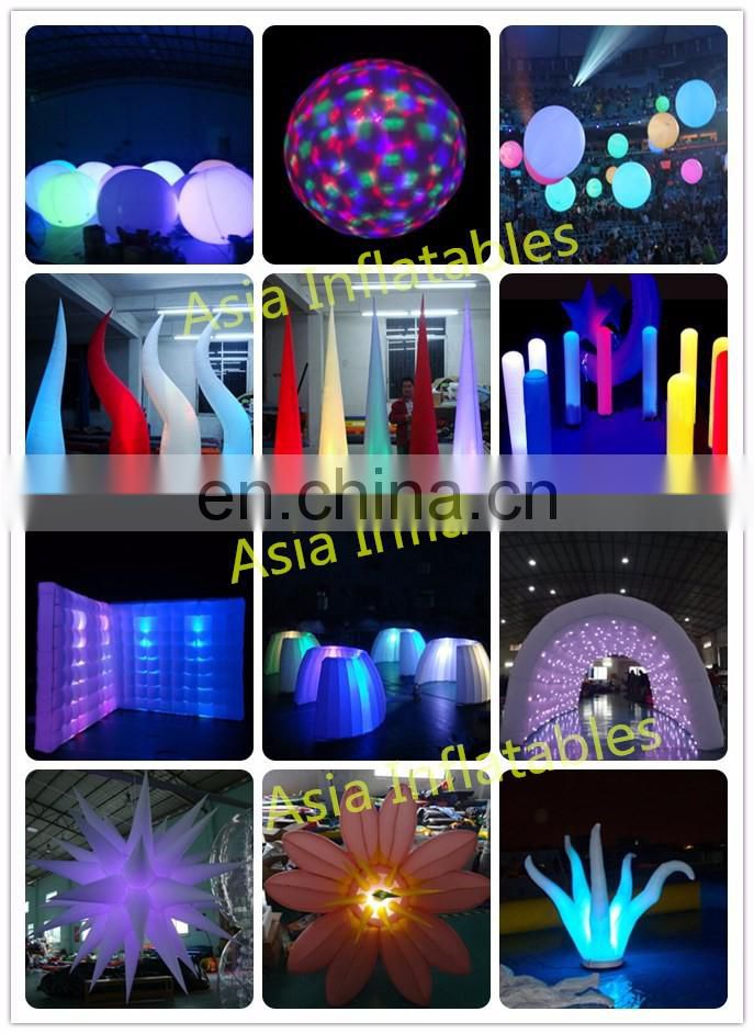 Factory price new design inflatable stage jellyfish with led light