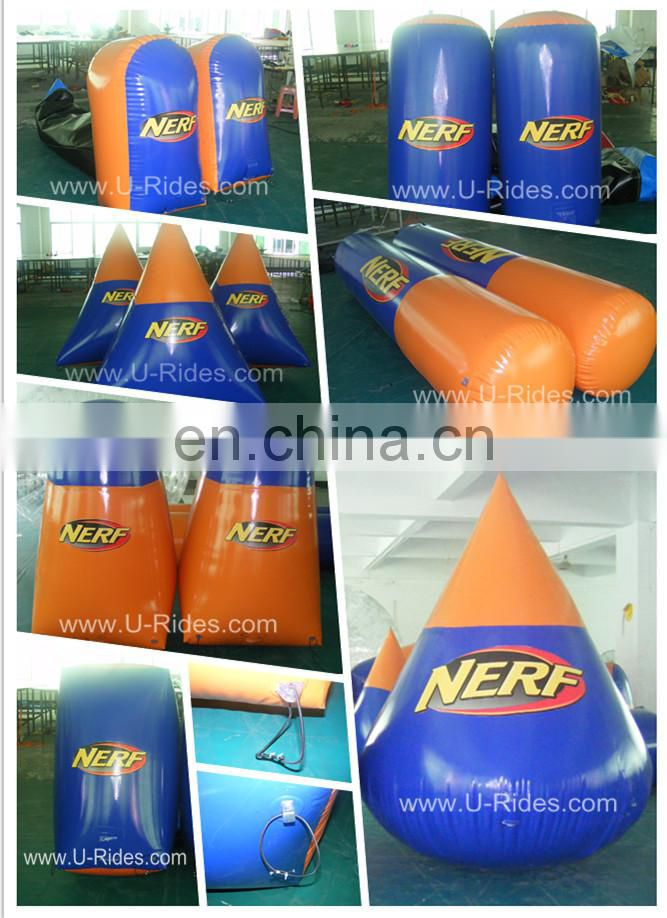 2015 Doritos Inflatable Paintball Bunkers for shooting game