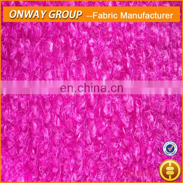 Onway Textile hatchi 100 spun polyester fabric for sweater
