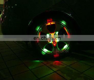 Flash Car LED Wheel Lights, Solar Energy LED Light, LED Wheel Work Light