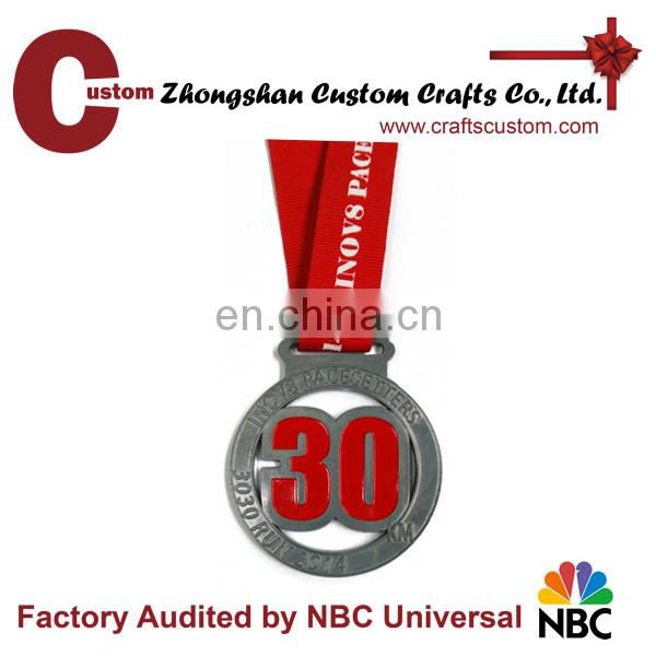 Customized kids' metal medal for souvenir & gift