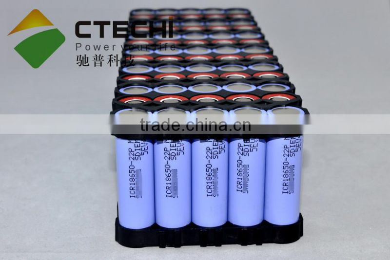 11Ah 48V 18650 high capacity battery pack electric car batteries