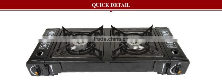 Professional Twin Burners Gas Stove