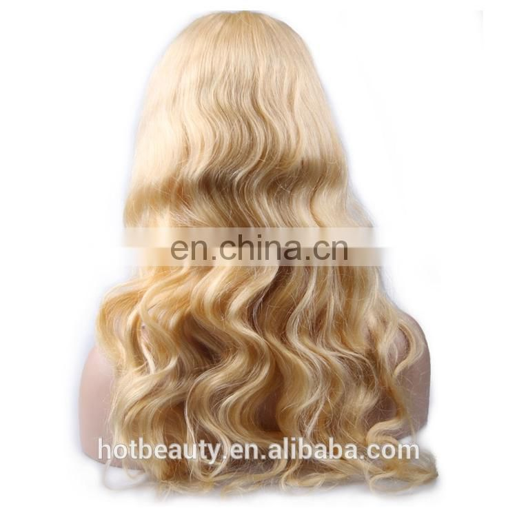 Fast Shipment Human Lace Wig, Wholesale Top Quality Brazilian Virgin Hair Full Lace Wig