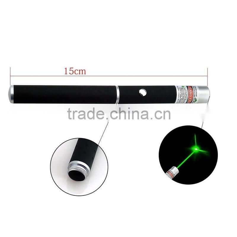 Military Astronomy Puntero Laser 5MW 532nm Focus Visible Green Laser Pointer Pen Beam Light Powerful Caneta