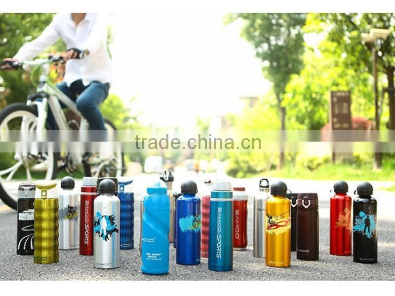 Factory price bicycle water bottle Stainless steel double insulation bike water bottle 350ML