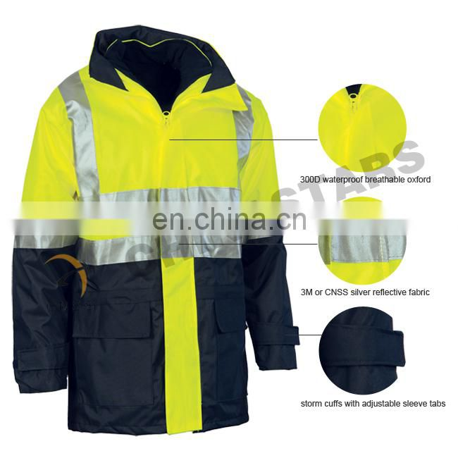 CNSS assorted color oxford material winter jacket
