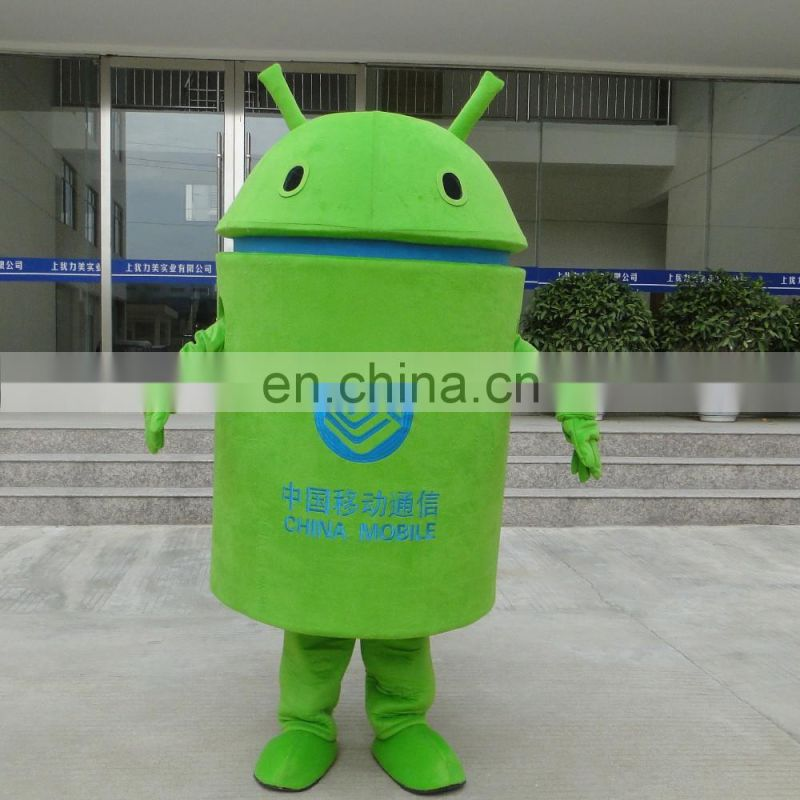 2016 advertising adult Android mobile phone mascot costume